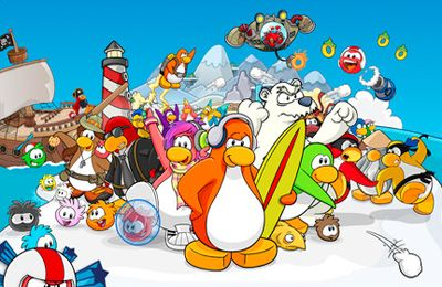Capturas de pantalla del juego Puffle Launch para iPhone, iPad o iPod.