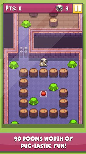 Capturas de pantalla del juego Pug's quest para iPhone, iPad o iPod.