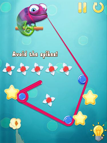 Capturas de pantalla del juego Pull my tongue para iPhone, iPad o iPod.