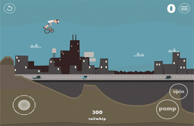 Screenshots of the Pumped: BMX game for iPhone, iPad or iPod.