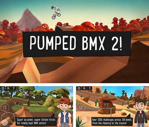 In addition to the game StarComposer for iPhone, iPad or iPod, you can also download Pumped BMX 2 for free.