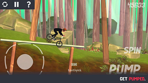Download Pumped BMX 3 iPhone free game.