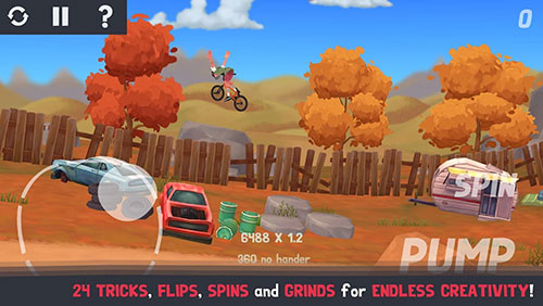 Pumped BMX 3 iPhone game - free  Download ipa for iPad