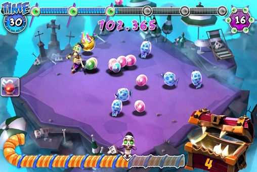 Screenshots do jogo Pumpkin sweet adventure para iPhone, iPad ou iPod.
