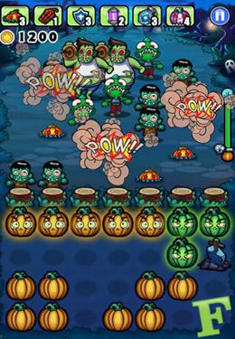 Download Pumpkins vs. Monsters iPhone free game.