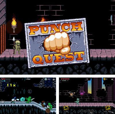 In addition to the game Heroes of havoc: Idle adventures for iPhone, iPad or iPod, you can also download Punch Quest for free.