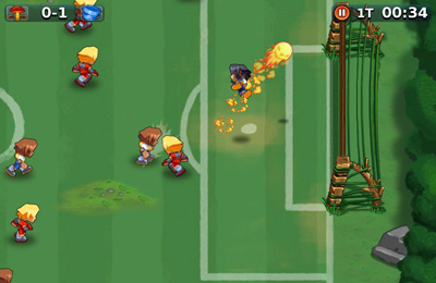 Screenshots of the Pure Fun Soccer game for iPhone, iPad or iPod.