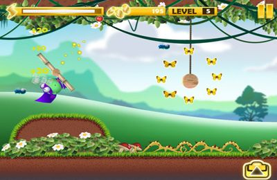 Screenshots of the Purple Cape game for iPhone, iPad or iPod.