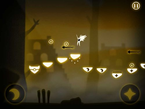 Capturas de pantalla del juego Pursuit of light para iPhone, iPad o iPod.