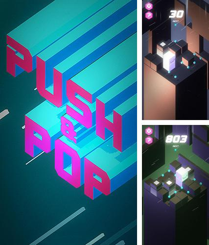 In addition to the game Yoopins for iPhone, iPad or iPod, you can also download Push and pop for free.