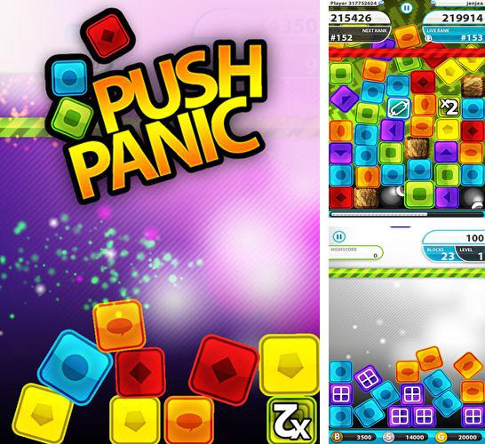 In addition to the game Star wars journeys: The phantom menace for iPhone, iPad or iPod, you can also download Push Panic! for free.