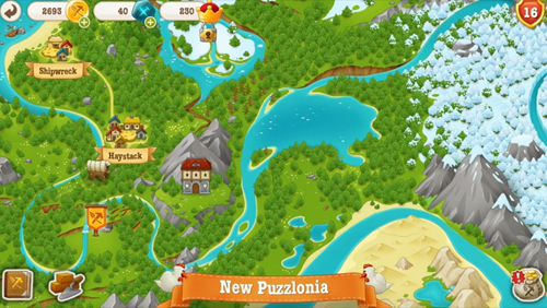 Screenshots of the Puzzle craft 2 game for iPhone, iPad or iPod.