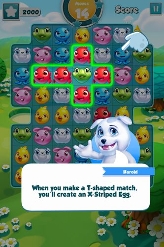 Screenshots of the Puzzle pets game for iPhone, iPad or iPod.