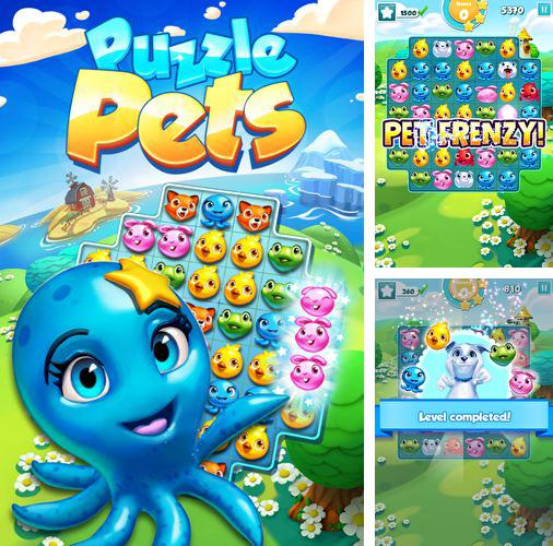 In addition to the game Tank Hero: Laser Wars for iPhone, iPad or iPod, you can also download Puzzle pets for free.