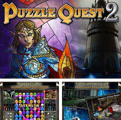 In addition to the game War robots for iPhone, iPad or iPod, you can also download Puzzle Quest 2 for free.