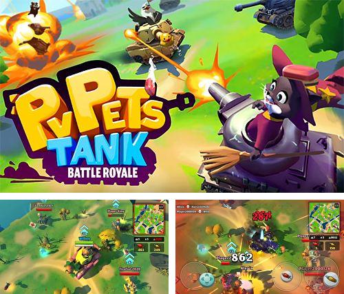 In addition to the game Fox adventure for iPhone, iPad or iPod, you can also download PvPets: Tank battle royale for free.