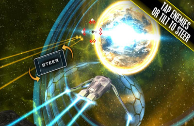 Screenshots of the Quantum Galaxy game for iPhone, iPad or iPod.