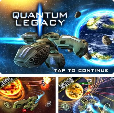 In addition to the game Rogue star for iPhone, iPad or iPod, you can also download Quantum Legacy HD Turbo for free.
