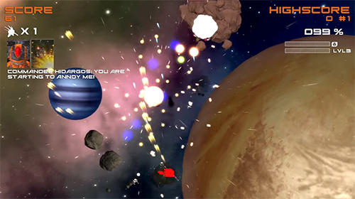 Screenshots of the Quantum revenge game for iPhone, iPad or iPod.