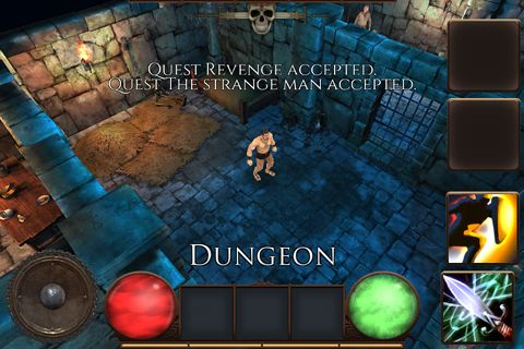 Download Quest for revenge iPhone free game.