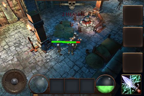Screenshots of the Quest for revenge game for iPhone, iPad or iPod.