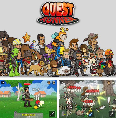 Download Quest runners iPhone free game.