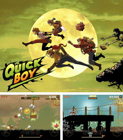 In addition to the game Streets of rage 2 for iPhone, iPad or iPod, you can also download Quick boy for free.