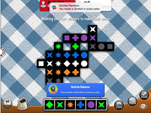 Download Qwirkle iPhone free game.