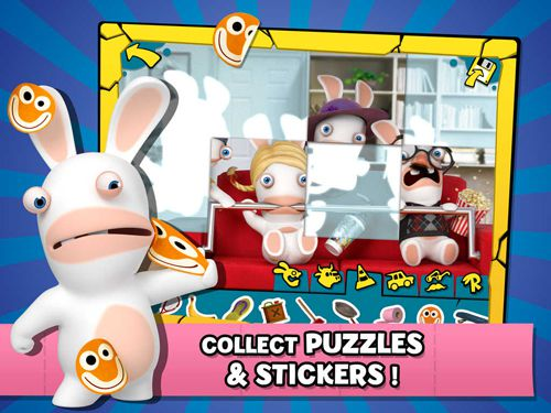Скачать игру Rabbids. Appisodes: The interactive TV show для iPad.