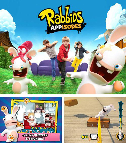 除了 iPhone、iPad 或 iPod 星际海盗冒险游戏,您还可以免费下载Rabbids. Appisodes: The interactive TV show, 。