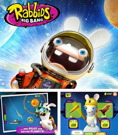In addition to the game Dino rocks for iPhone, iPad or iPod, you can also download Rabbids Big Bang for free.