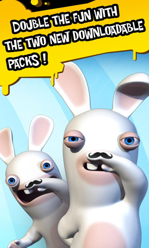 Capturas de pantalla del juego Rabbids Go Phone Again para iPhone, iPad o iPod.