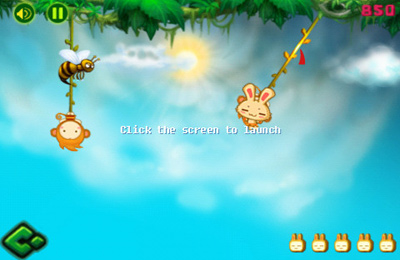 Capturas de pantalla del juego Rabbit Relay para iPhone, iPad o iPod.
