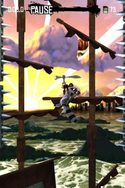 Screenshots do jogo Raccoon Rising para iPhone, iPad ou iPod.