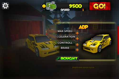 Download Race city iPhone free game.