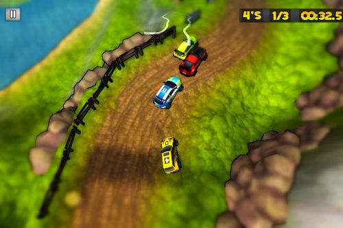 Screenshots of the Race city game for iPhone, iPad or iPod.