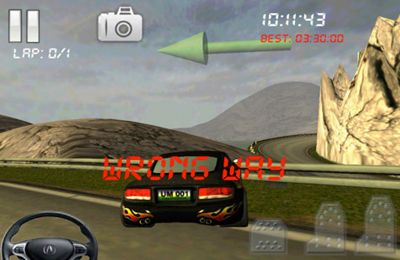 Screenshots do jogo Snowball RunerCar Racing Fun & Drive Safe para iPhone, iPad ou iPod.