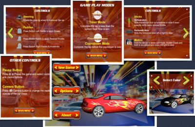 Screenshots of the Snowball RunerCar Racing Fun & Drive Safe game for iPhone, iPad or iPod.