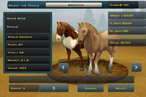 Free Race horses champions 2 download for iPhone, iPad and iPod.