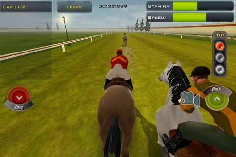 Screenshots of the Race horses champions 2 game for iPhone, iPad or iPod.