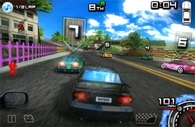 Kostenloser Download von Race illegal: High Speed 3D für iPhone, iPad und iPod.
