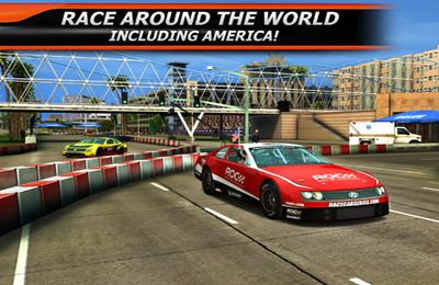 Screenshots vom Spiel Race Of Champions World für iPhone, iPad oder iPod.