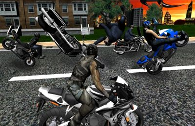 Screenshots do jogo Race, Stunt, Fight! para iPhone, iPad ou iPod.