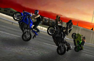 Écrans du jeu Race, Stunt, Fight! pour iPhone, iPad ou iPod.