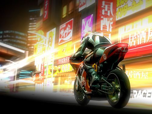 Capturas de pantalla del juego Raceline CC: High-speed motorcycle street racing para iPhone, iPad o iPod.