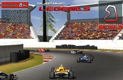 Free Racing Legends download for iPhone, iPad and iPod.