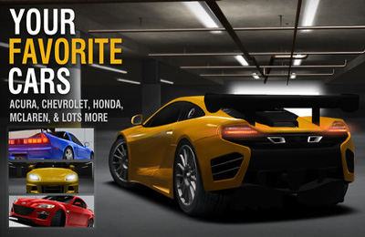 Free Racing Rivals download for iPhone, iPad and iPod.
