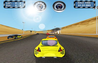 Capturas de pantalla del juego Racing Thrill para iPhone, iPad o iPod.