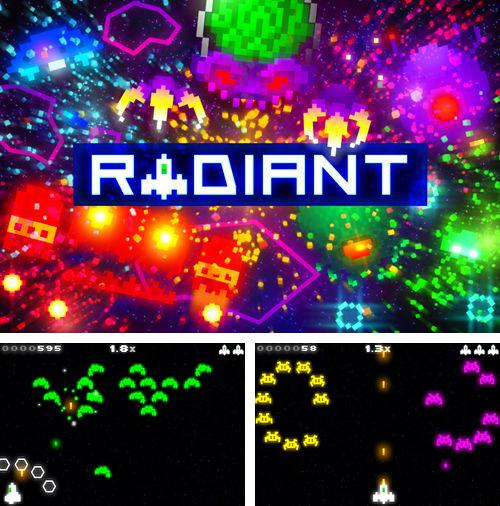 In addition to the game MMX hill dash 2 for iPhone, iPad or iPod, you can also download Radiant for free.