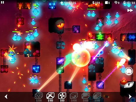 Download Radiant defense iPhone free game.